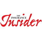 Black and red insurance insider logo