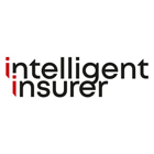 Black and red intelligent insurer logo
